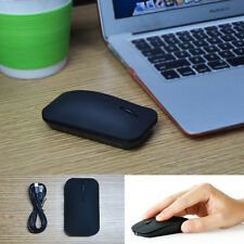Rechargeable Wireless Bluetooth 3.0 Gaming Mouse 1600DPI Noiseless MAC Laptop PC