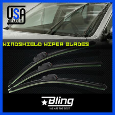 3PCS FOR CHEVROLET CHEVY UPLANDER 2005-2009 FRAMELESS WINDSHIELD WIPERS BLADES