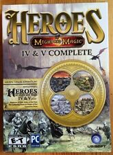 Heroes of Might and Magic IV & V Complete (PC DVD-ROM)