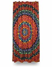 Handmade 100% Cotton 3D Butterfly Mandala Curtain Drape Panel 56x85 Inches