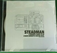 Steadman Sampler Demo Promo CD Single Paul Mccartney Beatles Liner Note White