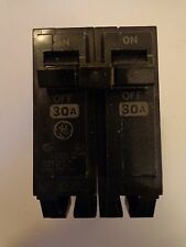 GE  THQB2130 2-Pole 30 Amp Circuit  Breaker Type THQB 120/240v Snap-In