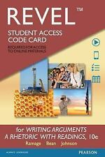REVEL for Writing Arguments: A Rhetoric with Readings  -- Access Card (10th Edit
