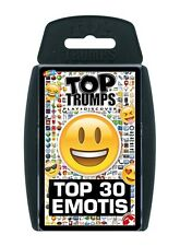 TOP TRUMPS TOP 30 EMOTIS EMOJIS CARD GAME BRAND NEW