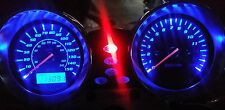 BLUE SUZUKI BANDIT 600 mk2 led dash clock conversion kit lightenUPgrade