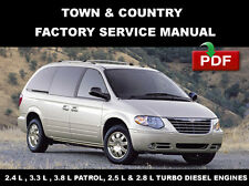 CHRYSLER TOWN & COUNTRY  2001 - 2005  2.4 3.3 3.8 ENGINES SERVICE REPAIR MANUAL