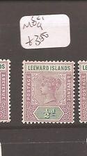 Leeward Islands  SG 1 MOG (1cdz)