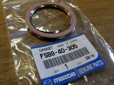 Exhaust downpipe to 475mm cat or rear section gasket, late Mazda MX-5 mk1 MX5