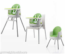 Keter Multi-Dine 3-in-1 Baby Child Infant Toddler Junior High Chair Green