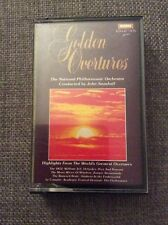 MUSIC CASSETTE THE NATIONAL PHILHARMONIC ORCHESTRA - GOLDEN OVERTURES - WARWICK