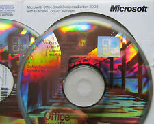 MICROSOFT Office 2003 Small Business Edition completa versione oemxp/Vista/Win 7/8/10