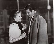 """Joan Fontaine 10"""" X 8"""" hand signed photograph"""