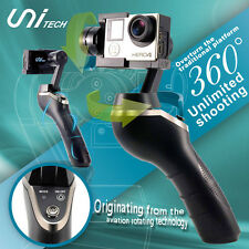 UniGo 360° unlimited rotation 3-Axis Handheld Gimbal PTZ Stabilizer GoPro Hero