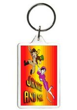 XENA ( JANICE AND MEL ) KEYCHAIN - DOUBLE SIDED ACRYLIC KEYRING