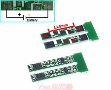 2x 3.6V 3.7V LiPo LiIon Battery Protection Circuit Module PCM to C2.5A FMA293 US