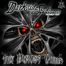 """YAMAHA YZ250F YZ450F 2006-2009 """"THE DEMONS WITHIN"""" GRAPHICS FOR WHITE PLASTICS"""