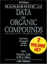 CRC Handbook of Data on Organic Compounds (SKU: G0849304458I3N00)