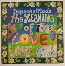 "Depeche Mode The Meaning Of Love Maxisingle 12"" UK 1982"
