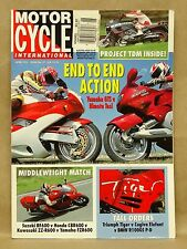 Vtg Motor Cycle International Magazine June 1993 Bimota Tesi Yamaha GTS