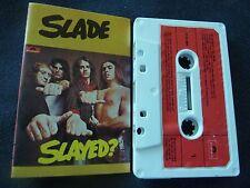 SLADE SLAYED RARE AUSTRALIAN CASETTE TAPE!