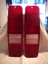 Tail Light Lenses International Harvester Light Pickup And Scout II New Item
