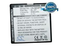 3.7V battery for Nokia 7900P, 6500 ?lassic, BL-6P, 7900Prism, BP-6P, 6500C, 6500