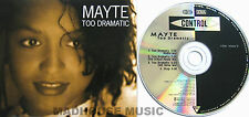 PRINCE MAYTE CD Too Dramatic EURO 4 Track EXTENDED Mixes MINT / UNPLAYED