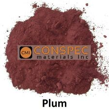 PURPLE PLUM Concrete Color Pigment Colorant Dye Cement Mortar Grout Plaster 1 LB