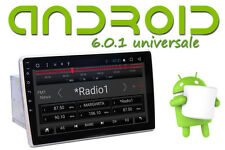 "Autoradio 2 din Android 6.0 QUADCORE 10"" Full HD Vivavoce GPS Mappe 3D Europa"