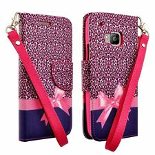 For HTC One M9 (2015) Flip Cover Cell Phone Case Hybrid PU Leather Wallet Pouch