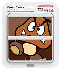 NEW Nintendo 3DS Official Faceplate Goomba no.51 Cover Plates Japan JAPAN