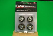 GMP Parts Department 1:18 scale Good/Year Drag Wheel & Tire Set 1320 Kings