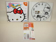 Sega DreamCast HELLO KITTY OTO NARU MAIL Import JAPAN Video Game * dc