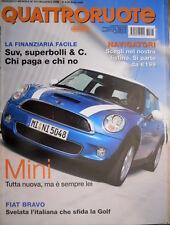 Quattroruote 613 2006 Superbolli per i Suv. Fiat Bravo sfida la Golf [Q.34]