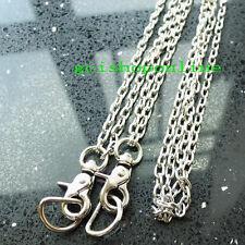 """Snap Hook Clip Swivel Trigger 42"""" Steel Purse Bag Shoulder Chain 3/4"""" D ring"""