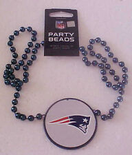 New England Patriots Logo Party Beads NEW Super Bowl 49 XLIX 18 inch necklace