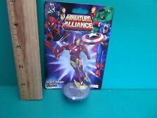 "Marvel Miniature Alliance Iron Man  2""in Collectible and or Cake Topper 2013"
