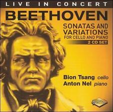 New 2 CD Set: Beethoven: Sonatas and Variations for Cello & Piano Live Concert