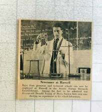 1953 16-year-old Donald Young Hove Sussex Employed Harwell Atomic Energy