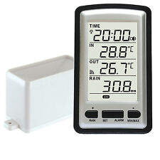 SEMI-PRO WIRELESS WEATHER STATION -  AUTO EMPTYING RAIN GUAGE WH0531