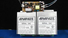 Lot Of 2 Watlow Anafazel Serial DAC 88-21760-000 w SWITCHING POWER SUPPLY PSA10L