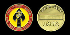 Challenge Coin - Marine Corps Forces - Special Operations Command - USMC