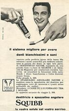 W1931 Dentifricio e Spazzolino SQUIBB - Pubblicità del 1958 - Vintage advert