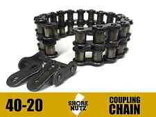 4020 Coupling Chain 4020CC C40-20 4020CHN DODGE REXNORD BROWNING MARTIN DROP IN