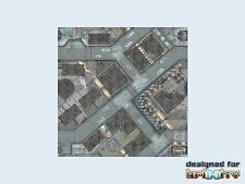 Micro Art Studios War Game Mat - 48x48inch - District 5 | Infinity, Spielmatte