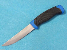 "BudK BK1144 WAHOO KILLER Blue stainless fixed blade knife 8 1/2"" overall NEW"