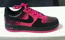 Nike Air Force 1 One Vivid Pink Black 488298 616 Mens Size 10