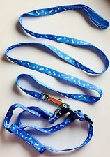 Light Blue Harness And Lead For Small Dog,Puppy Or Cat Uk Seller