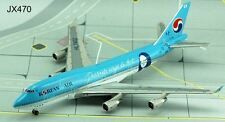 "JET-X~Korean Air B747-400~""Mona Lisa""~Diecast~JET470"