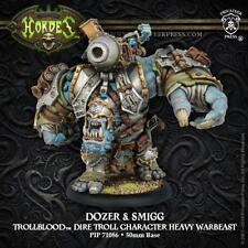 Warmachine Hordes Trollbloods Dozer & Smigg Heavy Warbeast PIP 71086